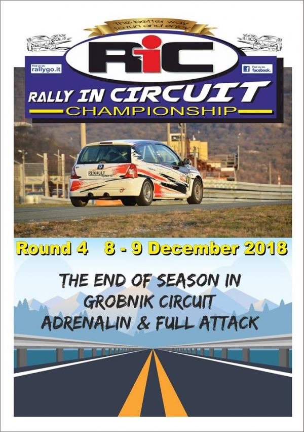 Round 4 Rijeka - Rally in Circuit