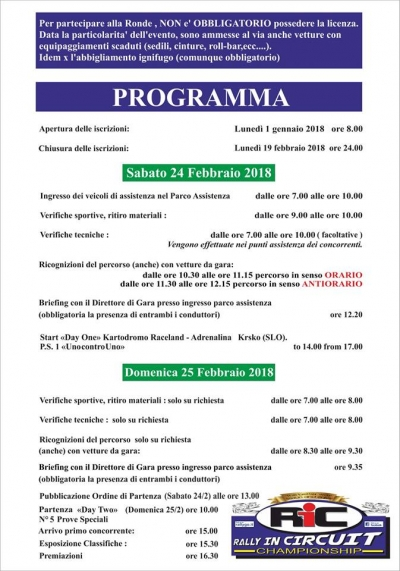 On-line in programma di Round One